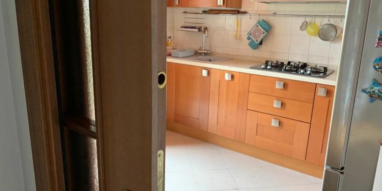 Cucina porta scorrevole
